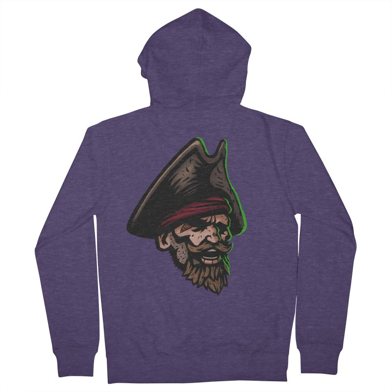 Captain Holy Men's Zip-Up Hoody by Holy Shop