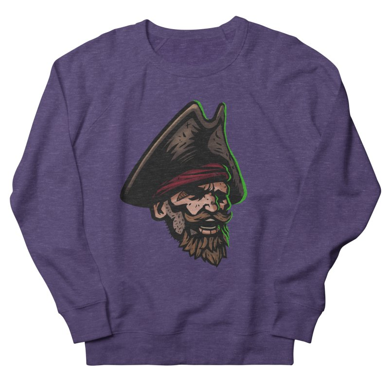 Captain Holy Men's French Terry Sweatshirt by Holy Shop