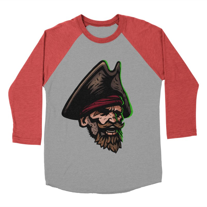 Captain Holy Women's Baseball Triblend T-Shirt by Holy Shop