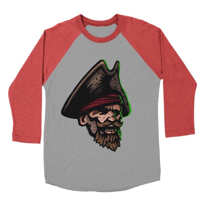 Captain Holy Men's Baseball Triblend T-Shirt by Holy Shop