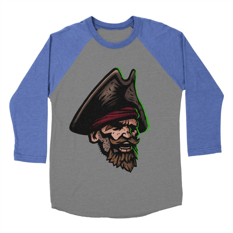 Captain Holy Men's Baseball Triblend T-Shirt by Holy Shop