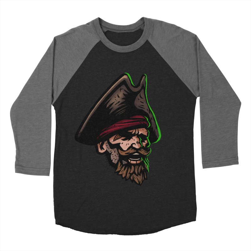 Captain Holy Men's Baseball Triblend Longsleeve T-Shirt by Holy Shop