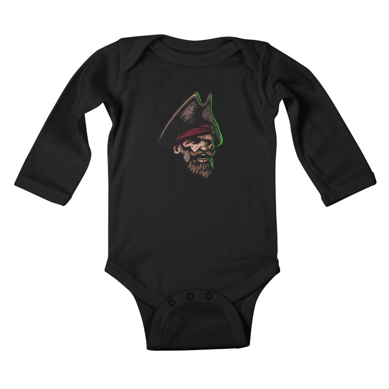 Captain Holy Kids Baby Longsleeve Bodysuit by Holy Shop
