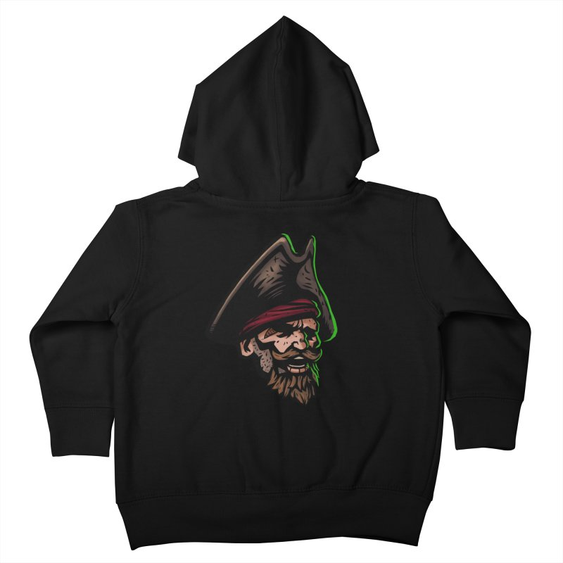Captain Holy Kids Toddler Zip-Up Hoody by Holy Shop