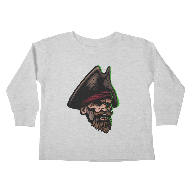 Captain Holy Kids Toddler Longsleeve T-Shirt by Holy Shop