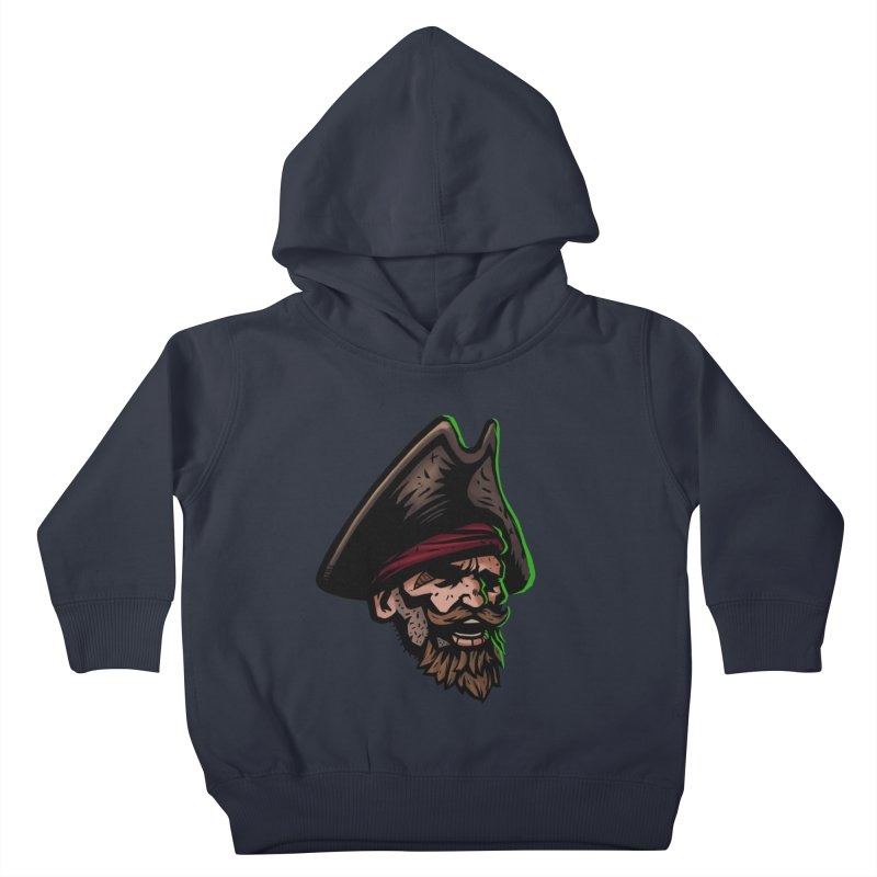 Captain Holy Kids Toddler Pullover Hoody by Holy Shop