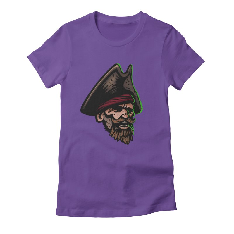 Captain Holy Women's Fitted T-Shirt by Holy Shop