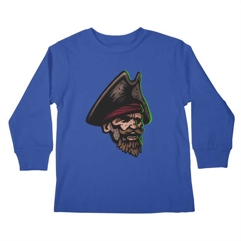 Captain Holy Kids Longsleeve T-Shirt by Holy Shop