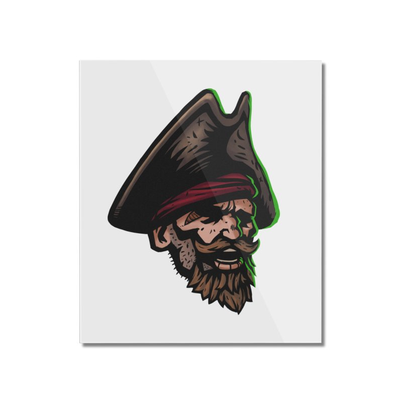 Captain Holy Home Mounted Acrylic Print by Holy Shop