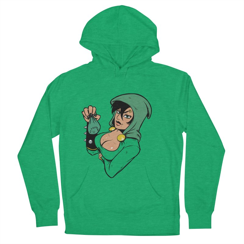 Lady Thief Women's French Terry Pullover Hoody by Holy Shop
