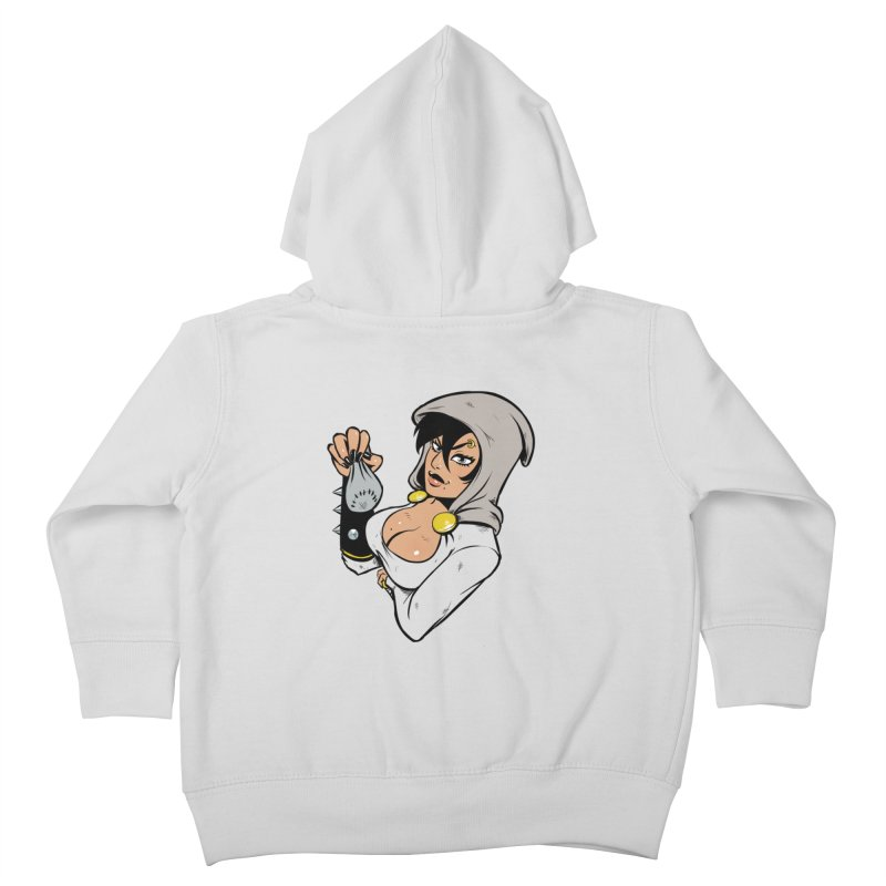 Lady Thief Kids Toddler Zip-Up Hoody by Holy Shop