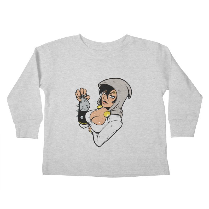 Lady Thief Kids Toddler Longsleeve T-Shirt by Holy Shop