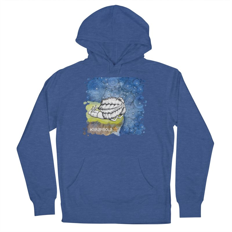 Starry Night from Karambola Women's French Terry Pullover Hoody by holypangolin