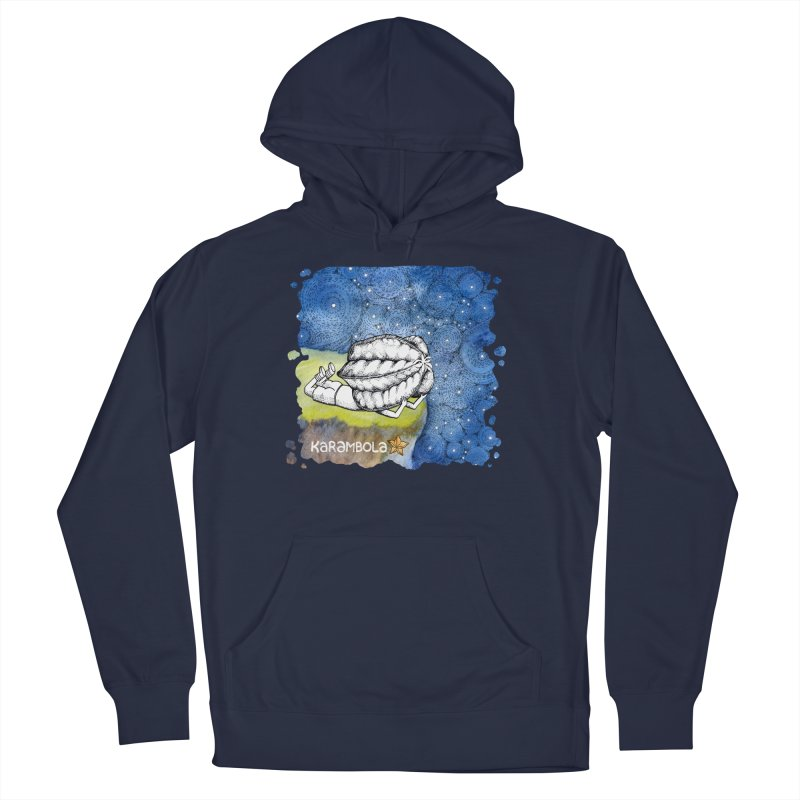 Starry Night from Karambola Men's French Terry Pullover Hoody by holypangolin