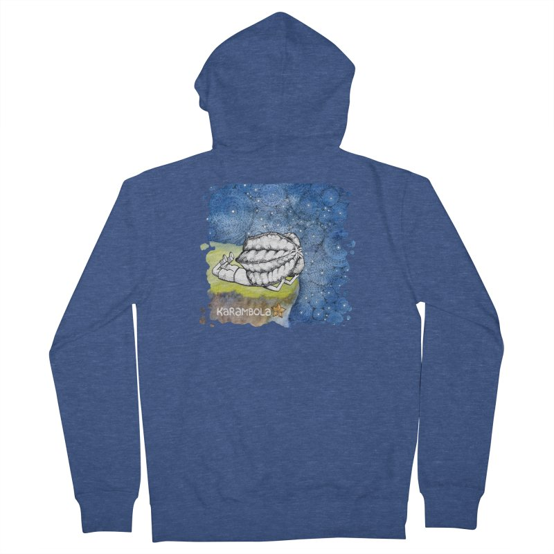 Starry Night from Karambola Women's French Terry Zip-Up Hoody by holypangolin