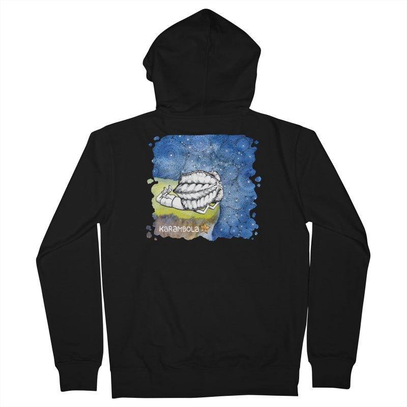 Starry Night from Karambola Men's French Terry Zip-Up Hoody by holypangolin