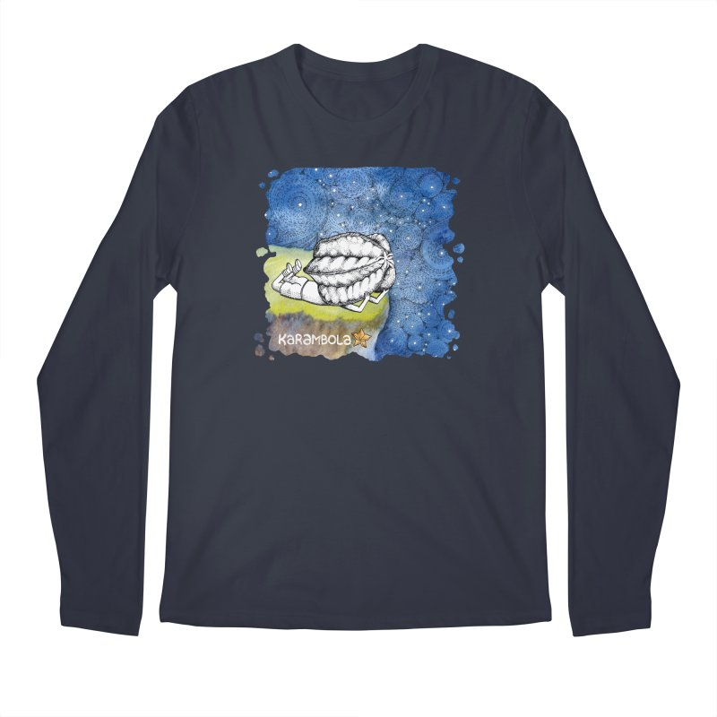 Starry Night from Karambola Men's Regular Longsleeve T-Shirt by holypangolin