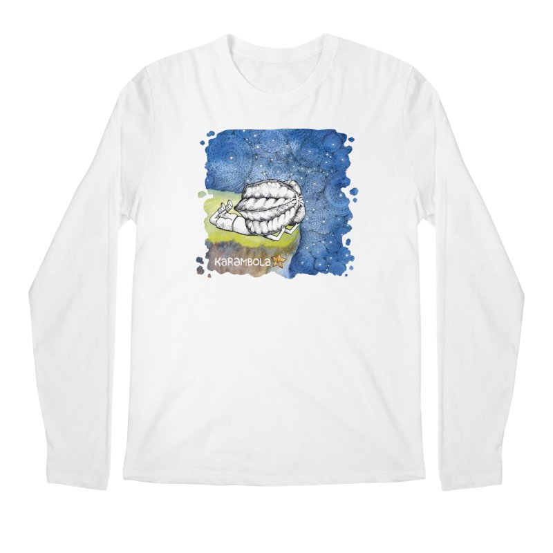 Starry Night from Karambola Men's Longsleeve T-Shirt by holypangolin