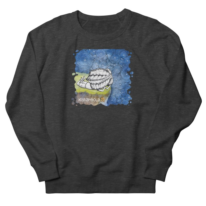 Starry Night from Karambola Women's French Terry Sweatshirt by holypangolin