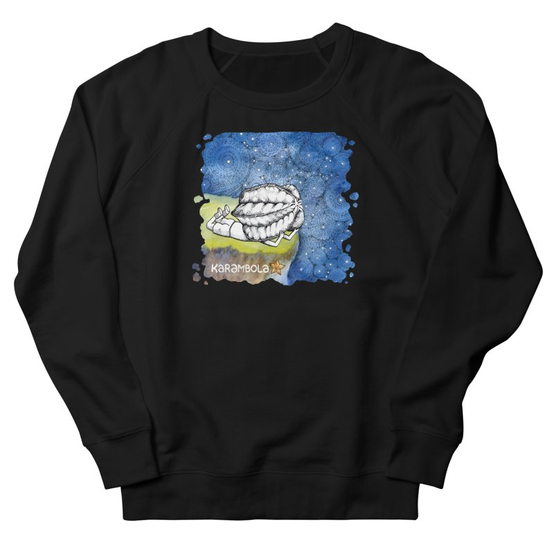 Starry Night from Karambola Men's French Terry Sweatshirt by holypangolin