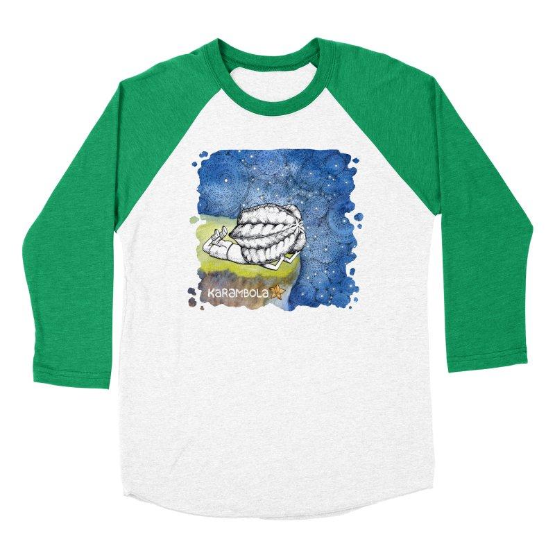 Starry Night from Karambola Women's Baseball Triblend T-Shirt by holypangolin
