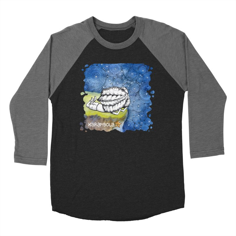Starry Night from Karambola Women's Baseball Triblend Longsleeve T-Shirt by holypangolin