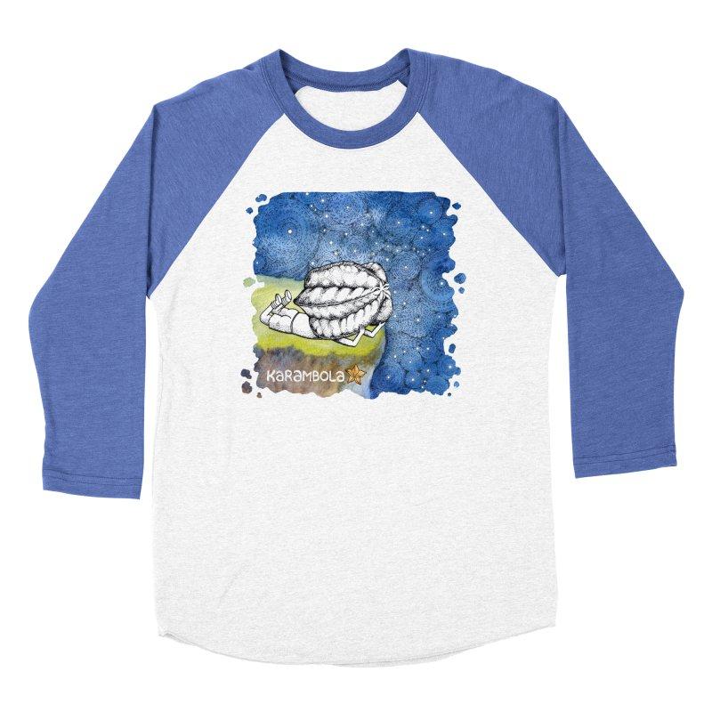 Starry Night from Karambola Men's Baseball Triblend T-Shirt by holypangolin