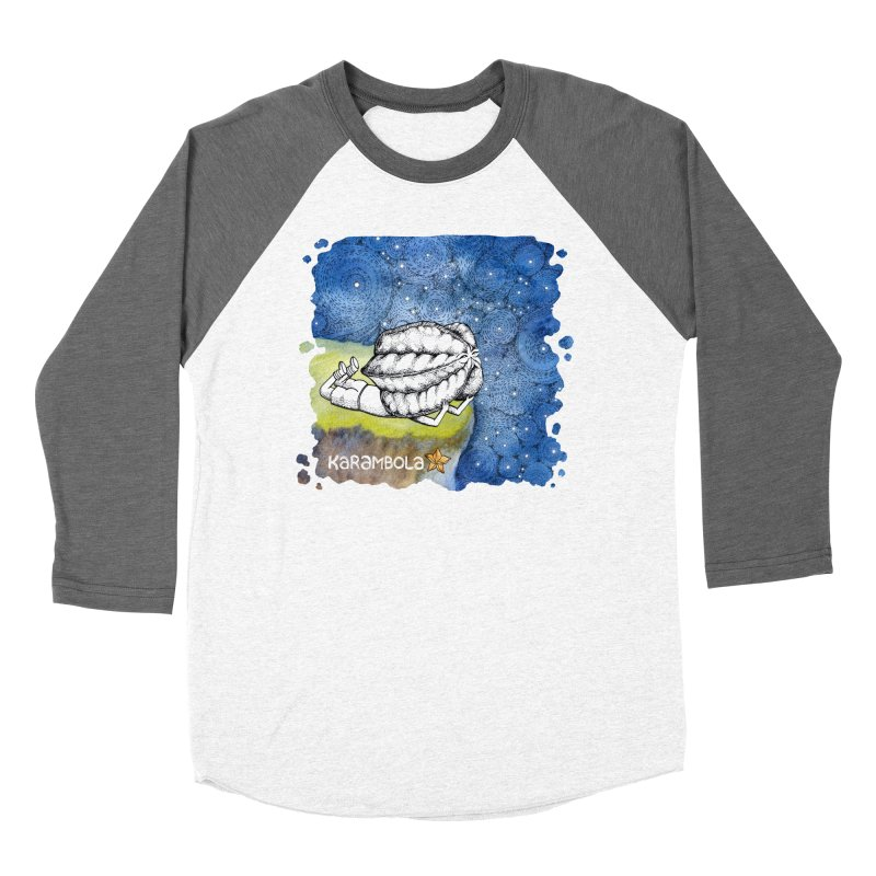 Starry Night from Karambola Men's Baseball Triblend Longsleeve T-Shirt by holypangolin