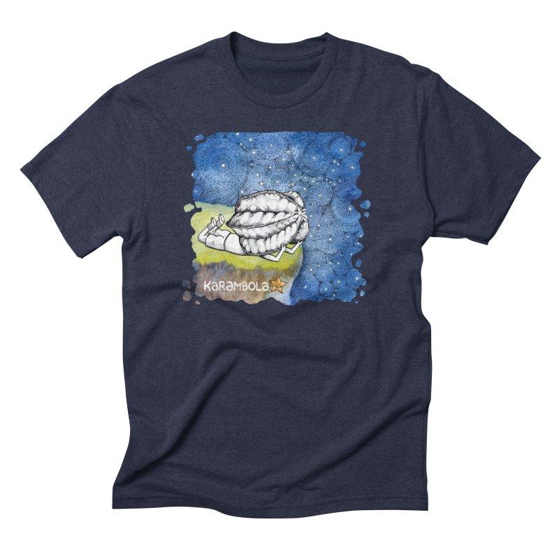 Starry Night from Karambola Men's Triblend T-shirt by holypangolin