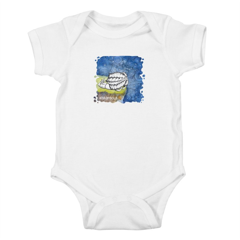 Starry Night from Karambola Kids Baby Bodysuit by holypangolin