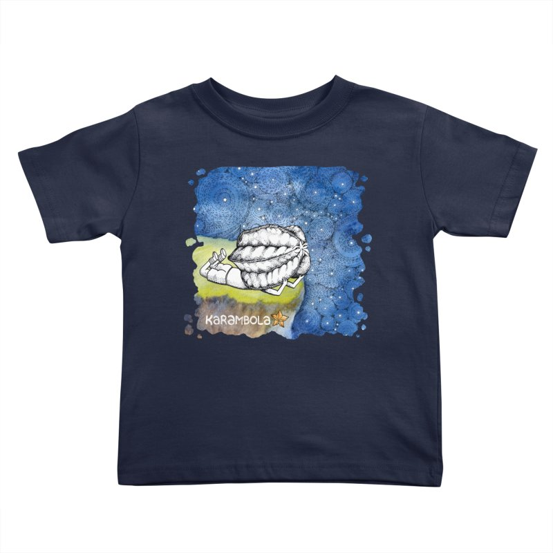Starry Night from Karambola Kids Toddler T-Shirt by holypangolin
