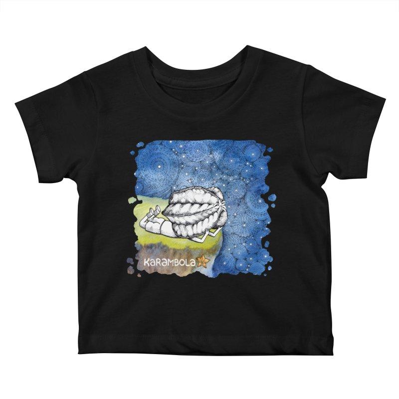 Starry Night from Karambola Kids Baby T-Shirt by holypangolin