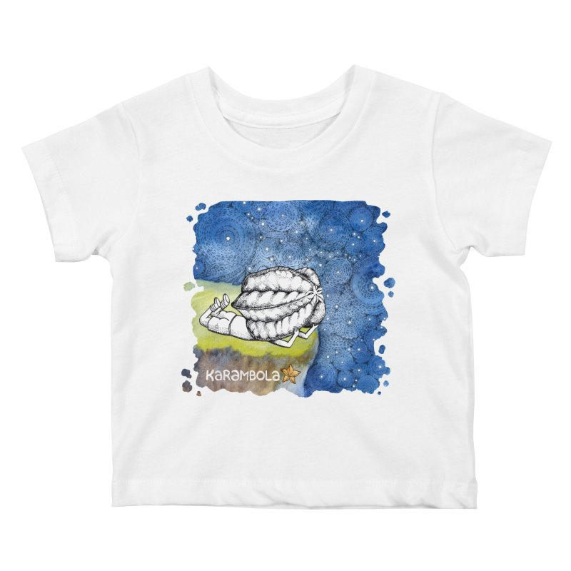 Starry Night from Karambola Kids Baby T-Shirt by holypangolin