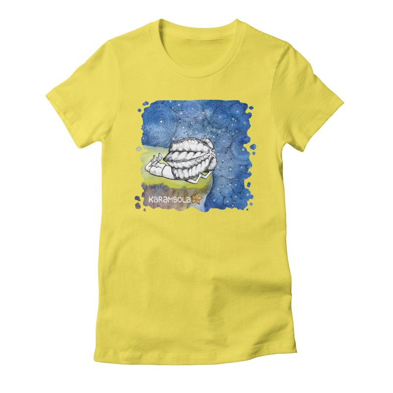Starry Night from Karambola Women's T-Shirt by holypangolin
