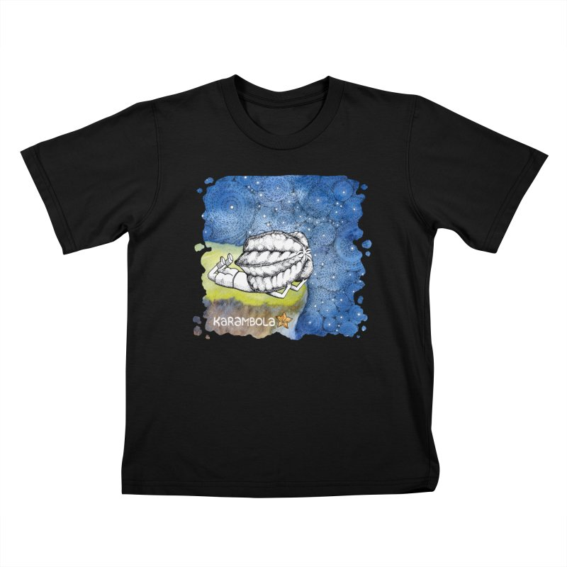 Starry Night from Karambola Kids T-shirt by holypangolin