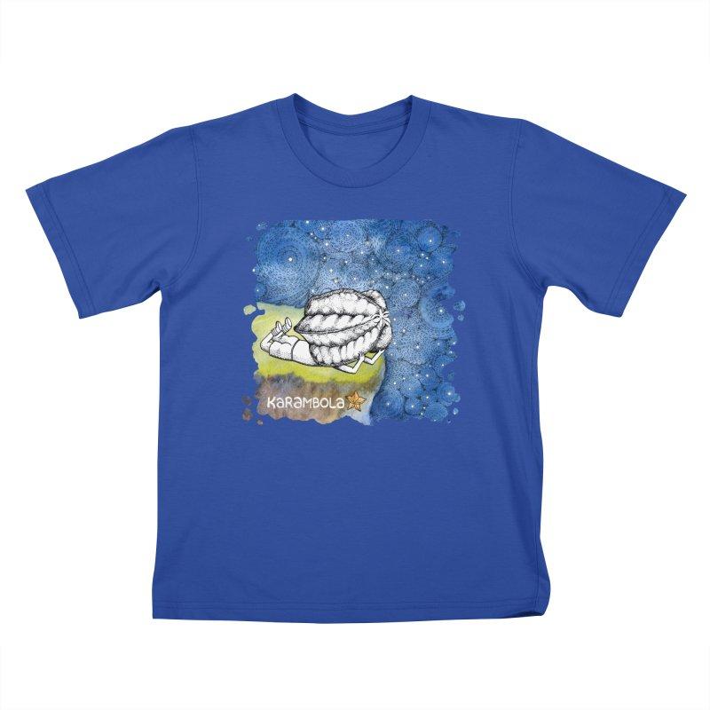 Starry Night from Karambola Kids T-Shirt by holypangolin