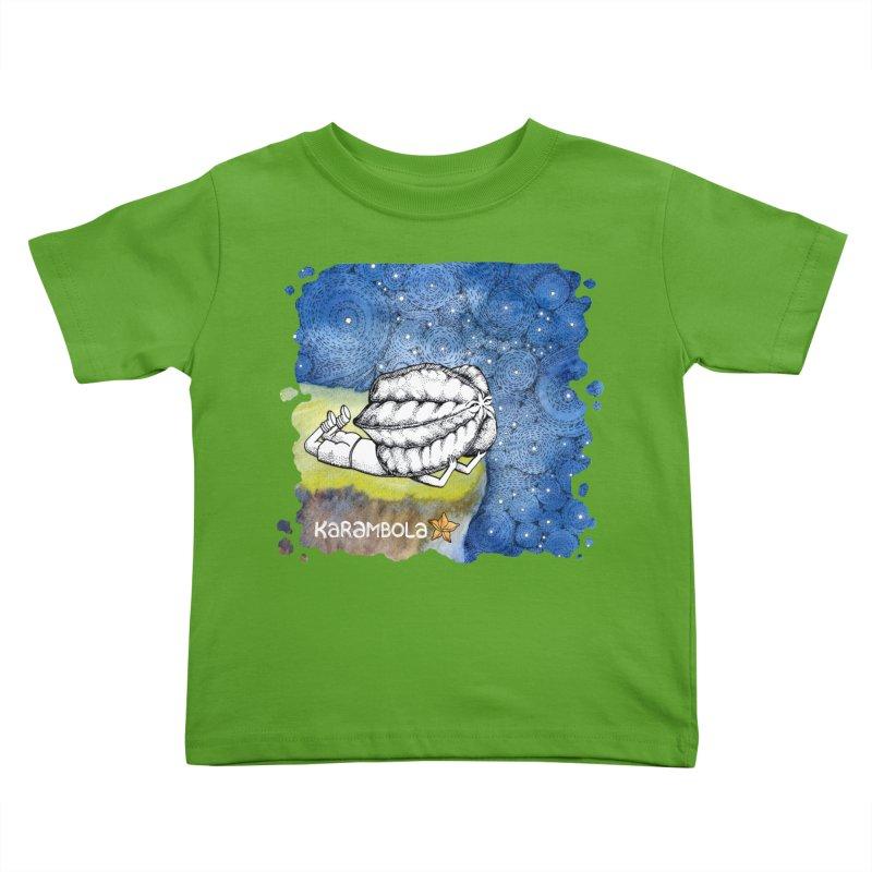 Starry Night from Karambola Kids Toddler T-Shirt by holypangolin