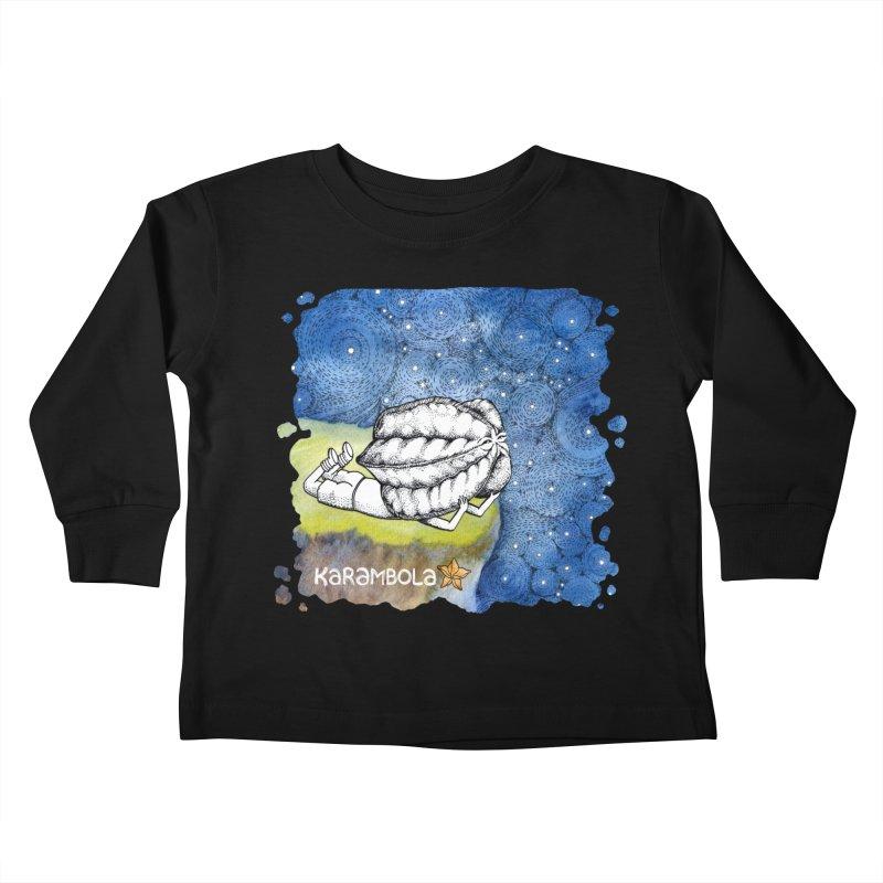 Starry Night from Karambola Kids Toddler Longsleeve T-Shirt by holypangolin