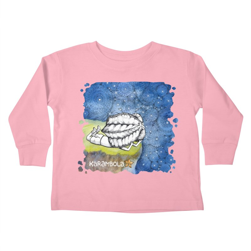Starry Night from Karambola Kids Toddler Longsleeve T-Shirt by holypangolin