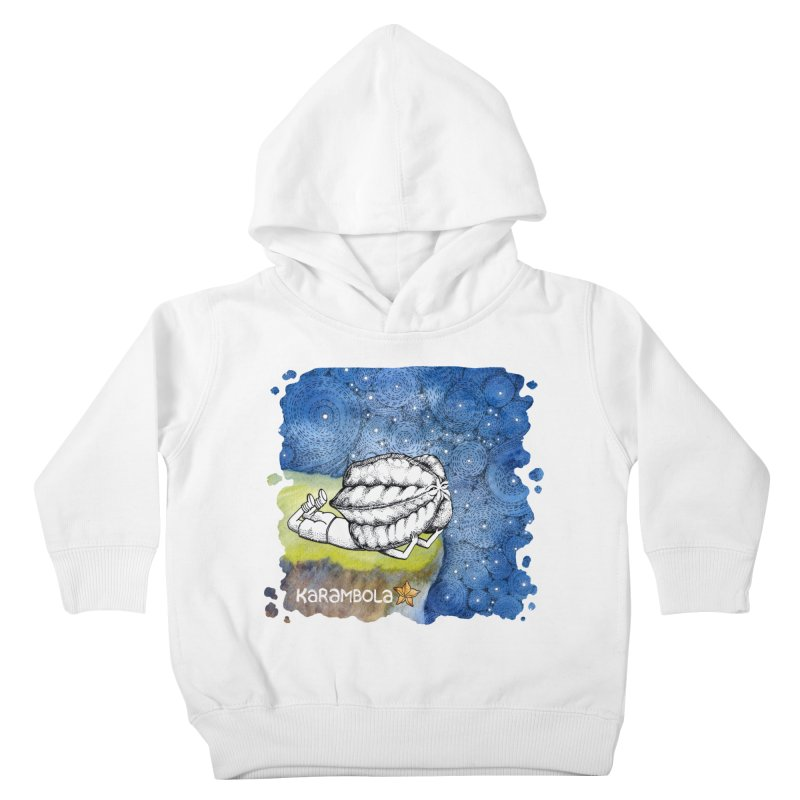 Starry Night from Karambola Kids Toddler Pullover Hoody by holypangolin