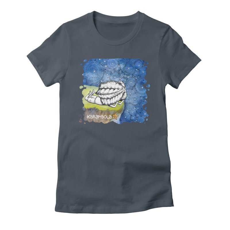 Starry Night from Karambola Women's T-Shirt by holypangolin