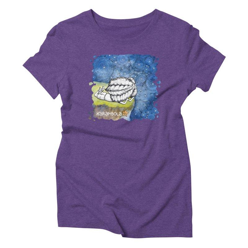 Starry Night from Karambola Women's Triblend T-shirt by holypangolin