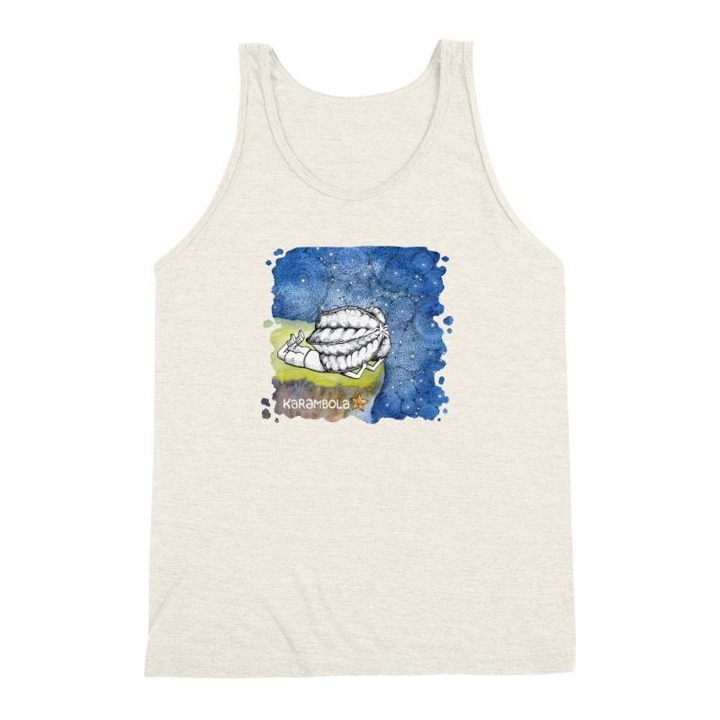 Starry Night from Karambola Men's Triblend Tank by holypangolin