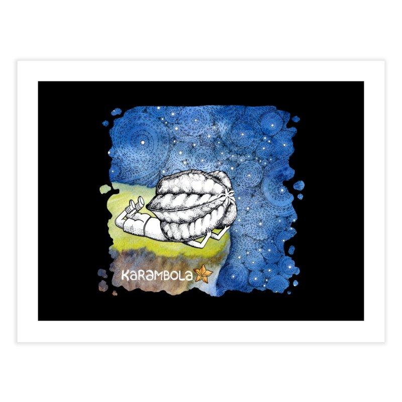 Starry Night from Karambola Home Fine Art Print by holypangolin