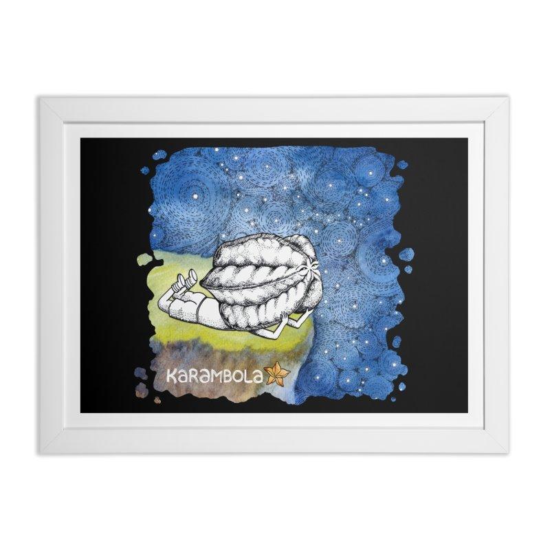 Starry Night from Karambola Home Framed Fine Art Print by holypangolin