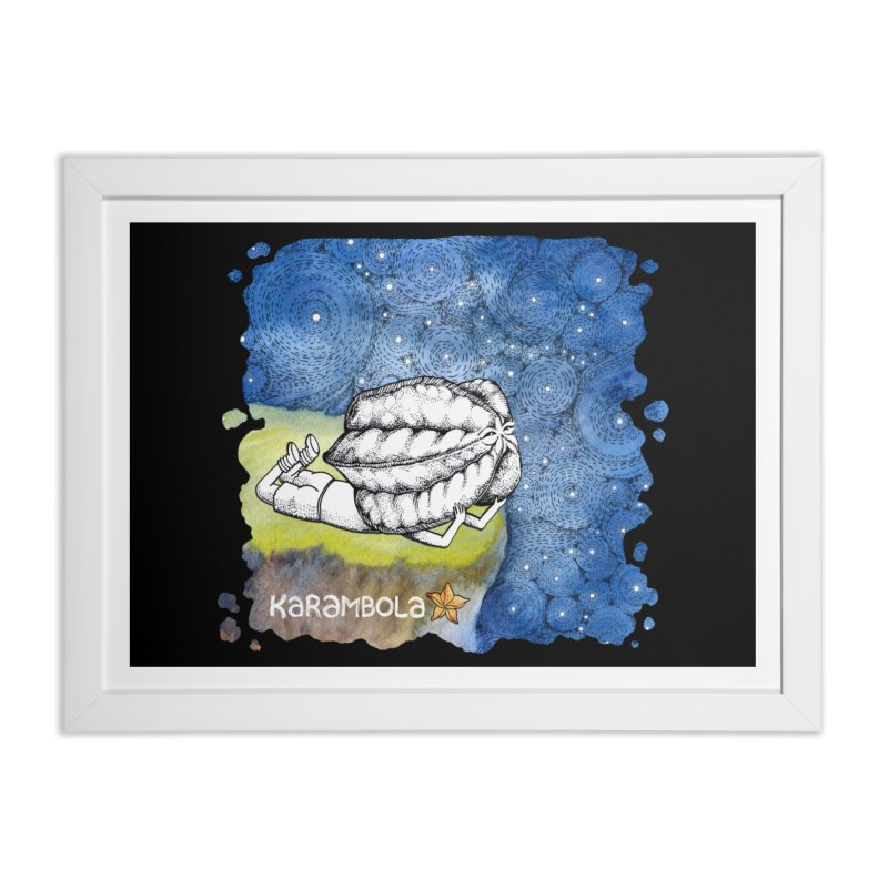 Starry Night from Karambola Home Framed Fine Art Print by holypangolin