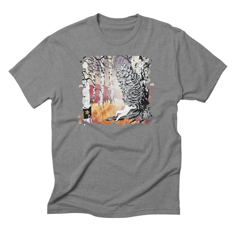 Autumn Forest from Karambola Men's T-Shirt by holypangolin