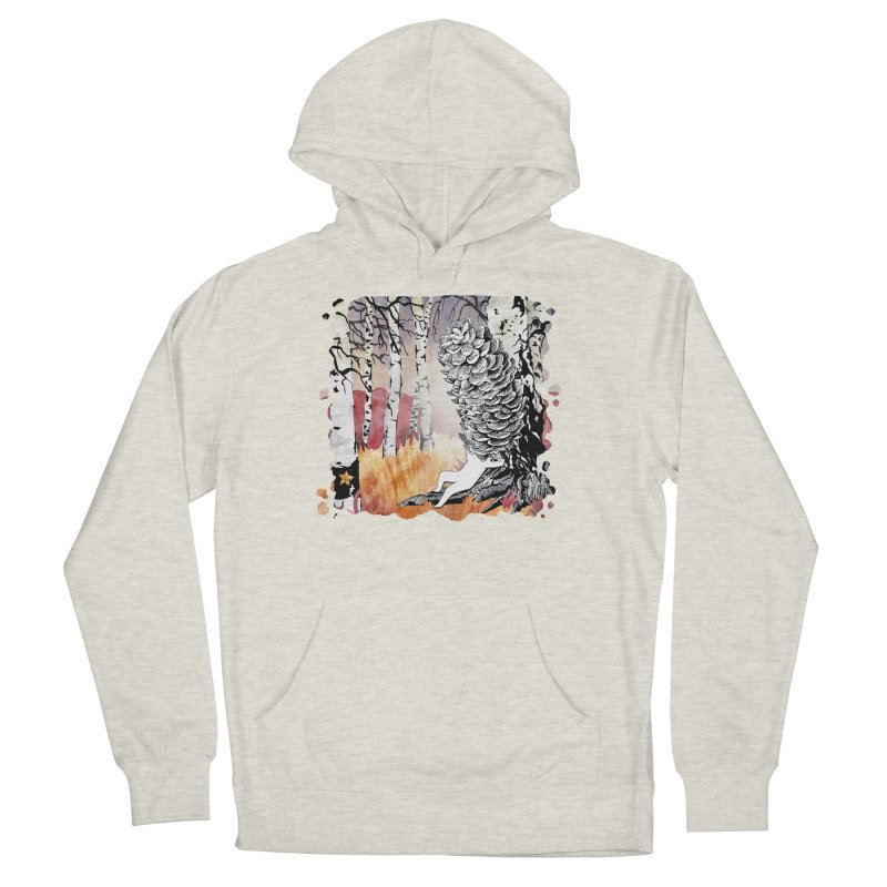 Autumn Forest from Karambola Men's French Terry Pullover Hoody by holypangolin