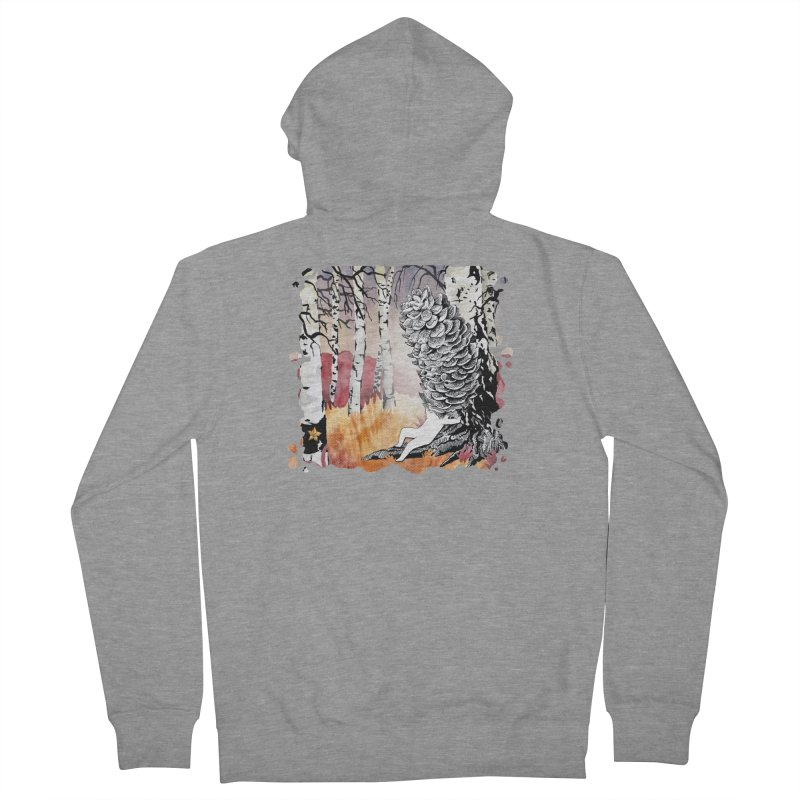 Autumn Forest from Karambola Women's French Terry Zip-Up Hoody by holypangolin
