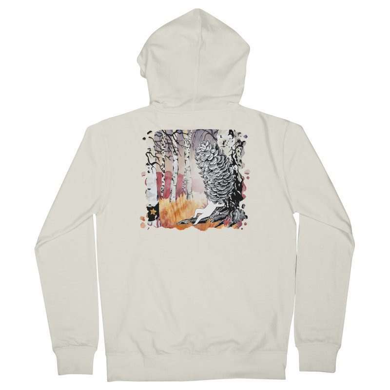 Autumn Forest from Karambola Women's Zip-Up Hoody by holypangolin